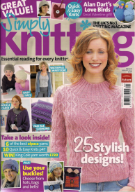 Simply Knitting Front Cover